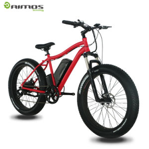 Supply Kinds of Good Quality 26inch Fat Tire Ebikes pictures & photos