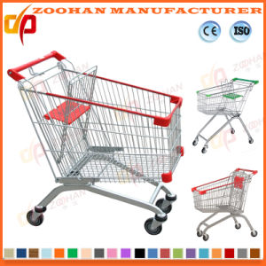 Safety Disable Trolley Supermarket Shopping Carts Wheelschair Users (ZHt281) pictures & photos