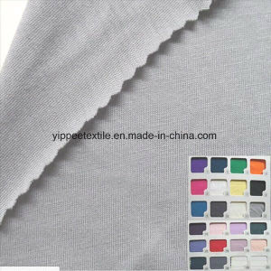 140G/M2, 70%Bamboo 30%Cotton T-Shirt Underwear Jersey Bamboo Fabric pictures & photos