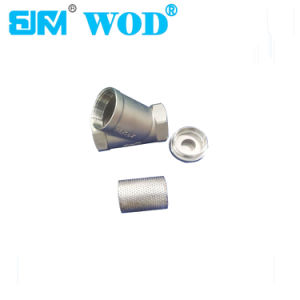 Stainless Steel 304 Threaded Strainer pictures & photos
