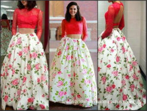 Red Prom Dress Printing Flora Bridesmaid Evening Cocktail Dress E20160 pictures & photos