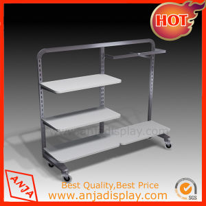 Metal Commercial Display Shelving for Store pictures & photos