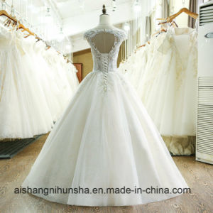 Custom Made China Vintage Ball Gown Wedding Dress 2017 pictures & photos