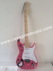Wholesales /Stickers Electric Guitar/ Lp Guitar /Guitar Supplier/ Manufacturer/Cessprin Music (ST605) pictures & photos