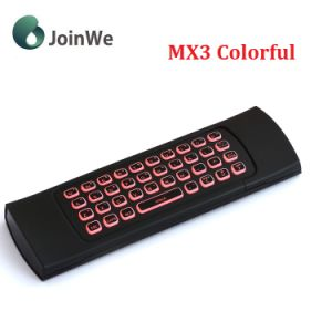 Mx3 Colorful Backlit Keyboard and Mouse Air Mouse Wireless pictures & photos