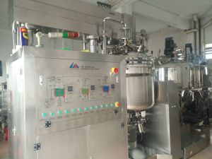 Vacuum Emulsifying Machine Homogenizer for Cosmetics Cream Price pictures & photos