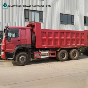 Man Diesel Sinotruk HOWO 10 Wheeler Dump Tipper Truck pictures & photos