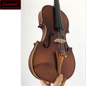 Wholesale Musical Insturment Solid Student Violin pictures & photos