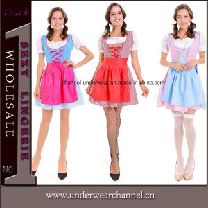 2017 Halloween Adult Sexy Ladies German Beer Traditional Bavarian Girl Costume (TLQZ7106) pictures & photos