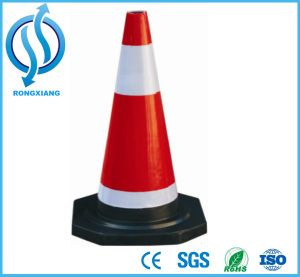 Rubber Traffic Cone Used on Road pictures & photos