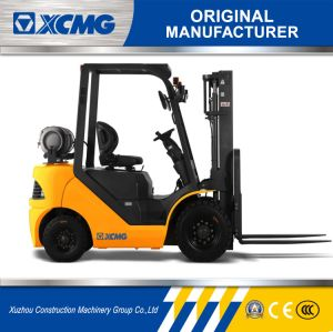 XCMG Official Fgl25t 2.5ton Gasoline&LPG Forklift for Sale pictures & photos
