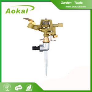 Metal Impulse Sprinkler with Spike Brass Material Type pictures & photos
