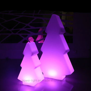 Christmas Decoration Plastic Color Changing Illumianted LED Christmas Tree pictures & photos