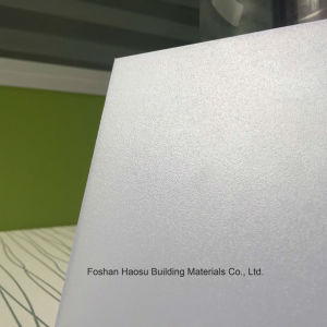 Frosted Polycarbonate Solid Sheet Roofing Foshan Lexan PC Plastic Sheet