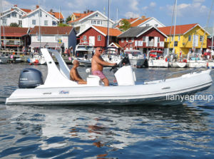 Liya 5.8meter China Rib Boats with Engine for Sale pictures & photos