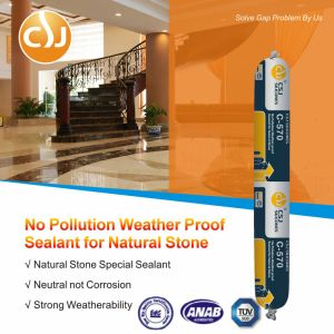 Silicone Sealant for Stone Tile Marble Concrete Joints pictures & photos