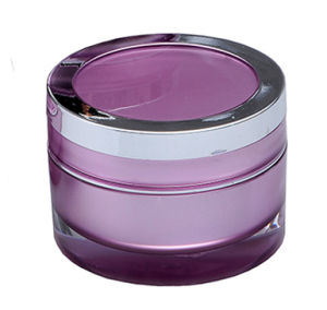 15g, 30g Cosmetic Acrylic Cream Jar with Plasted Cover pictures & photos