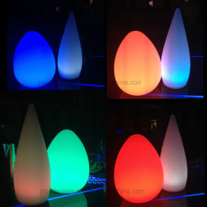 Outdoor Garden Display Cordless LED Egg Lamp pictures & photos
