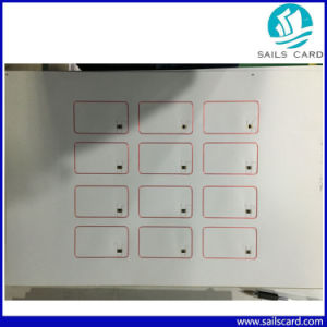 125kHz/13.56MHz RFID Keytag Prelam/Inlay pictures & photos