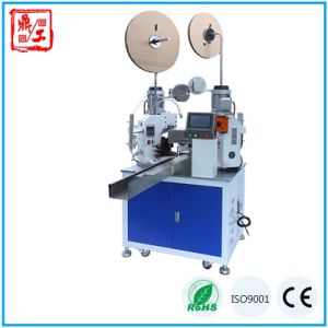 Full Automatic Wire Cable Cutting Stripping Twisting Crimping Tool Machinery pictures & photos
