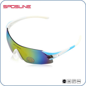 Fashion Anti-Scratch Ce En166 Cycling Sport Sunglasses UV400 Sports Goggles for Bicycle pictures & photos