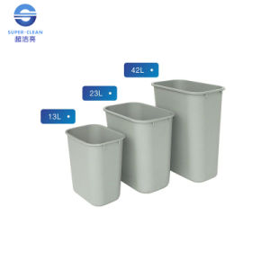 Small / Medium / Large Square Plastic Dustbin for Office pictures & photos