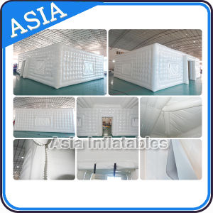 PVC Inflatable Clear Plastic Tent, Clear Cube Tent Wedding Events pictures & photos
