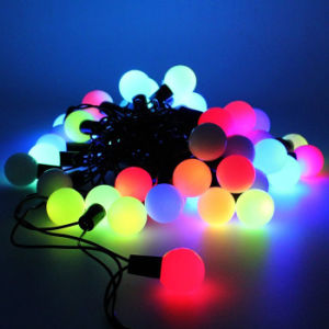 Globe 50 LED Ball String Lights Solar Powered Christmas Light Decorative Lighting for Home Garden Patio Lawn Party Decorations pictures & photos