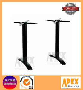 Restaurant Twin Base Cafe Furniture Iron Table Leg pictures & photos