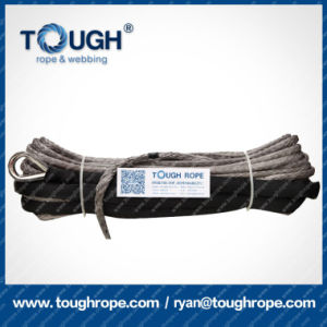 Aftermarket Auto Parts Multicolor Electric Winch Rope 10mm Synthetic Winch Rope pictures & photos