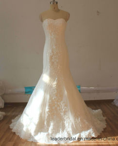 2017 New Stock Bridal Gowns Beaded Mermaid Wedding Dresses Lb17101 pictures & photos