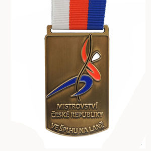 Superbike Competition Gold Silver Bronze Medal with Three Colors Lanyards pictures & photos