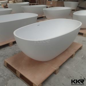 Marble Stone Solid Surface Freestanding Bathtub pictures & photos