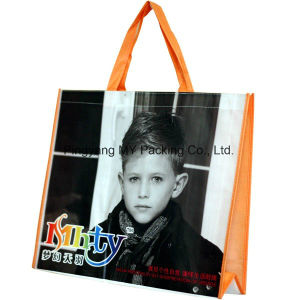 OEM Cmyk Printing PP Woven Bag for Shop for Sale pictures & photos
