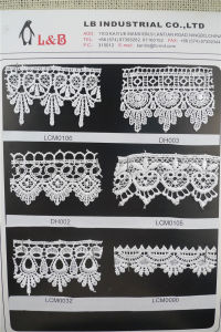 Wholesale Chemical Guipure Lace, Polyester Lace pictures & photos