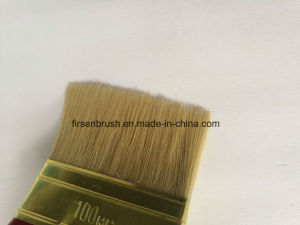 Wooden Handle White Bristle Paint Brush pictures & photos