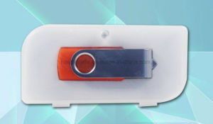 Promotional Idea Swivel USB Stick Card Flash Drive with Logo pictures & photos