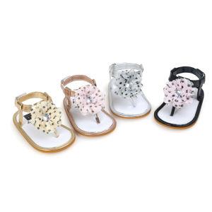 Baby Girl Summer Prewalker Sandals First Walkers Various pictures & photos