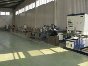 Internal Flat Dripper Irrigation Pipe Production Line pictures & photos