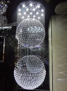 High Quality Hotel Decoration LED Crystal Chandelier (GD-9046-18) pictures & photos