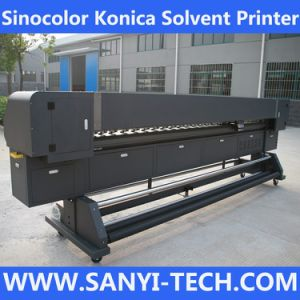 Solvent Inkjet Printer Km-3212, 120m2/H, with Konica Km512 Printheads pictures & photos