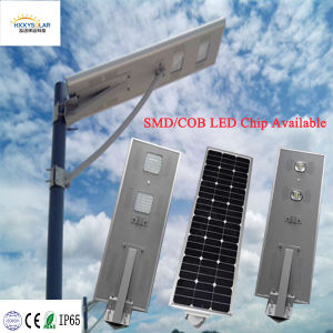 Manufacturer Supply 5 Years Warranty All in One Integrated Solar LED Street Light with Lithium Battery pictures & photos