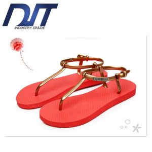 Factory Direct Summer Rome Women Sandal with Custom Logo pictures & photos
