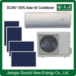 100% DC48V off Grid Best Price Solar Energy Air Conditioner pictures & photos