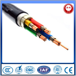 IEC 60502-1 600/1000V Copper Conductor Four Cores PVC Insulated Power Cable