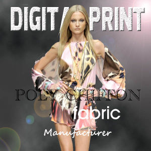 2017 fashion Poly Print Textile Digital Printing (X1076) pictures & photos