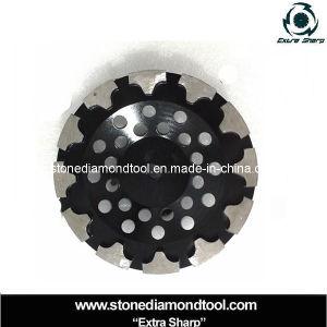 for Concrete T-Shape Segment Diamond Grinding Tools Cup Wheels pictures & photos