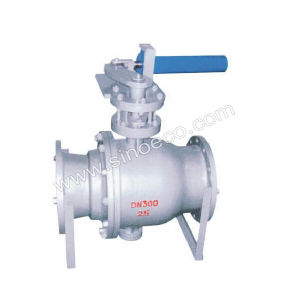Cast Iron Fixed Cinder Ball Valve pictures & photos