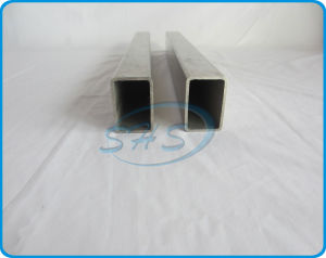 Stainless Steel Welded Rectangular Tubes for Handrails