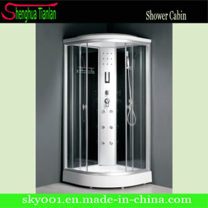 Simple Hydro Massage Glass Steam Shower Room (TL-8815) pictures & photos